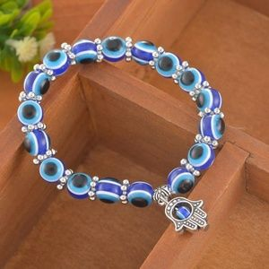 Jewelry - Evil Eye Protection Beaded Bracelet